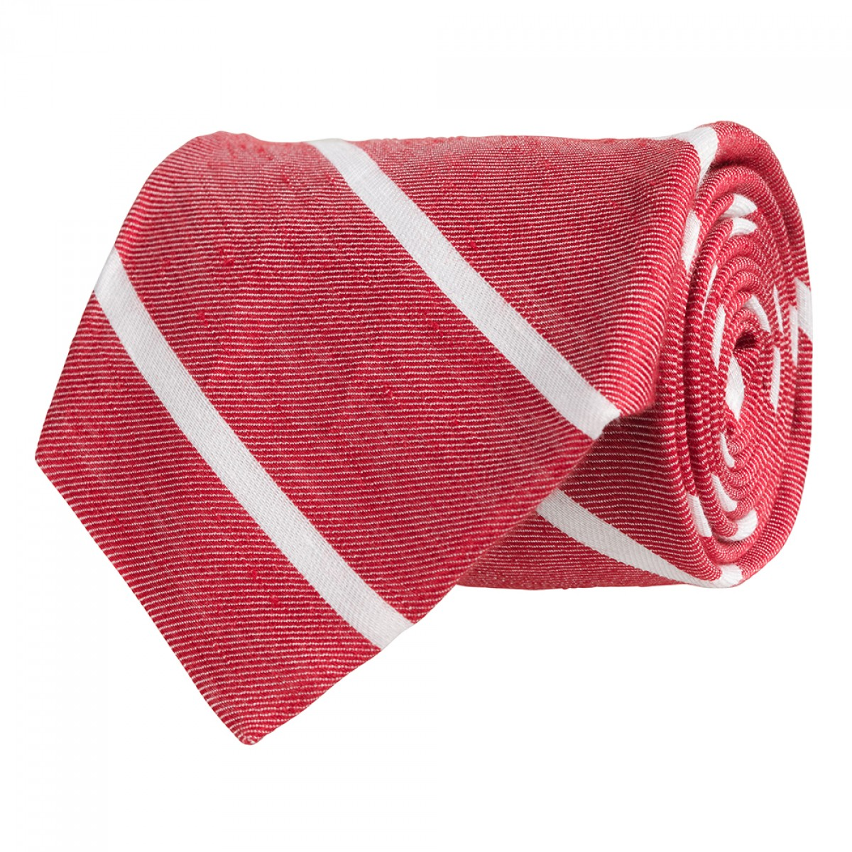 Linen Stripe Gent - Red